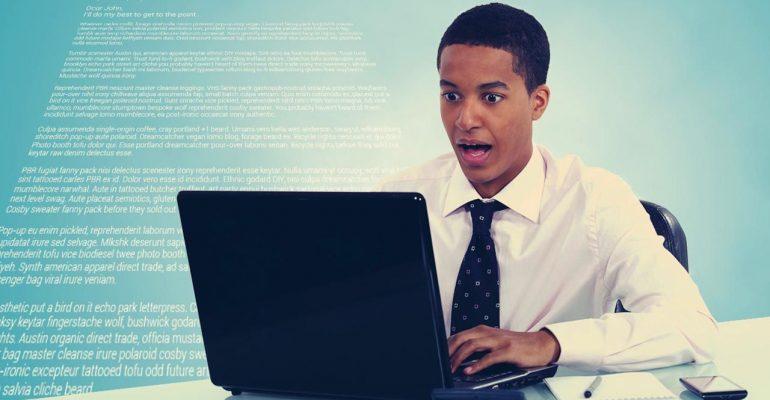 8 errores en una campaña de email marketing