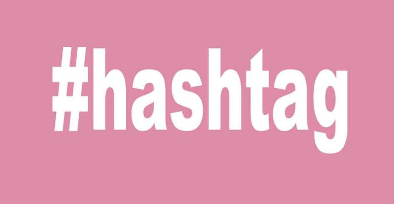 hashtag más usados