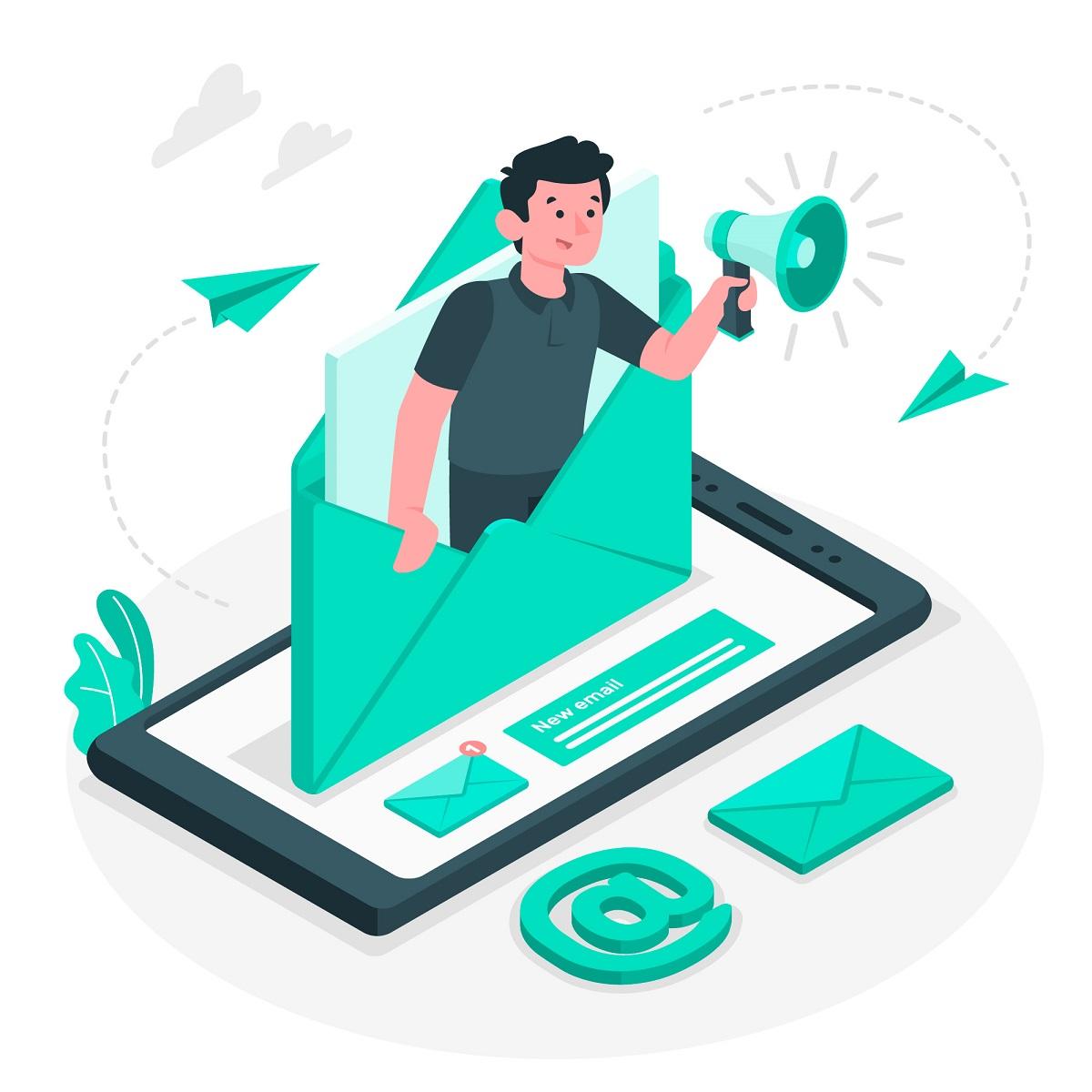 El email marketing es una buena opción para las estrategias de retención de clientes.