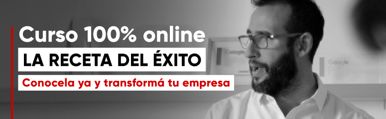 """Curso 100% online: """"La receta del éxito"""". Conocela ya y transforma tu empresa."""